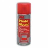 3M PhotoMount Adhesive Spray Can CFC-Free Non-Yellowing 200ml Ref HPMOUNT
