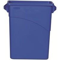 Rubbermaid Blue Slim Jim Container 60Ltr