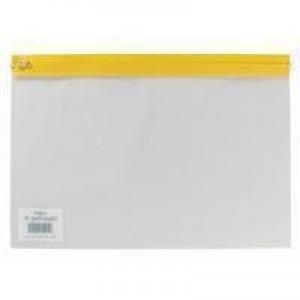 Snopake A4 Plus Yellow Zippa Bag Pk25