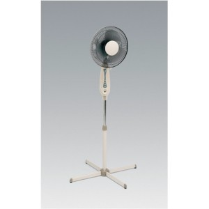 5 Star Facilities Pedestal Fan Floor-standing Tilt and Lock 48.5Db 3-Speed H1180-1400mm Dia.406mm