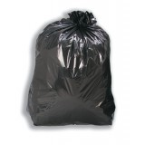 Image for 5 Star Bin Bags Medium Duty 100 Gauge 457x737x991mm Black Ref 465144 [Pack 200]