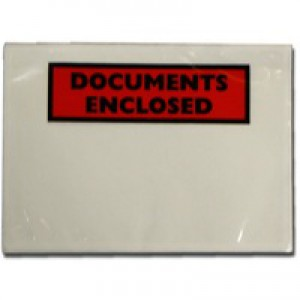 A7 Documents Encl Adh Envelopes Pk100