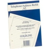 Image for Guildhall Ruled Address Refill Pad A5