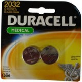 Image for Duracell Button Battery Lithium 3V DL2032 Pack of 2 75072668