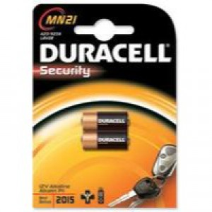 Duracell MN21 Battery Alkaline for Camera Calculator or Pager 1.2V Ref 75072670 [Pack 2]