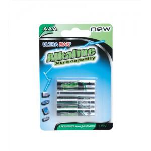 Image for Basics Alkaline Batteries AAA [Pack 4]