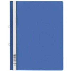 Durable Clear View Folder A4 Blue Pk25