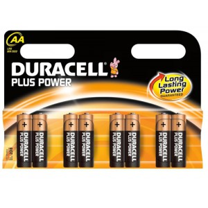 Duracell Plus Power Battery AAA Pk8