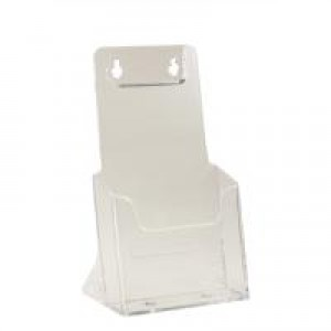 Rigid Literature Holder 1/3-A4 Clear