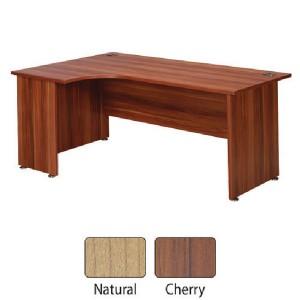 Image for FF Avior 1800mm LH Radial Desk Cherry