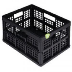 Really Useful Blk 32L Folding Crate Pk3