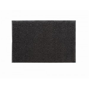 Floortex Outdoor Mat Vinyl Fibre Surface Vinyl Back 600x900mm Grey