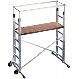 Image for Hailo ProfiStep Multi Scaffold Base Element Platform Max Height 3m Capacity 135kg H3m 38.5kg Ref 9476-001