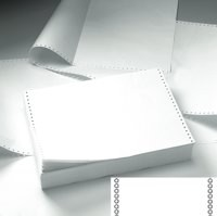 Business Listing Paper 2-Part Plain Carbonless 11inchx368mm [1000 Sheets]