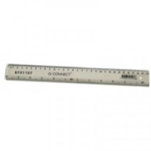 Q-Connect 300mm/30cm Clear Ruler