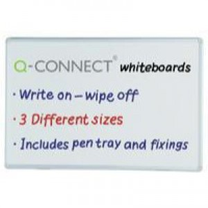 Q-Connect 900x600mm Dry Wipe Board