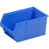 Image for Barton TC5 Small Parts Container Semi-Open Front Blue 12.8 Litre 200x355x175mm Pack of 10 010051