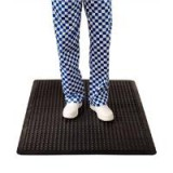 Image for COBA Bubblemat Standing Surface Mat Hard-wearing Rubber W900xD1200xH14mm Black Ref BF010002