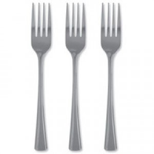 Stainless Steel Cutlery Forks Pk12