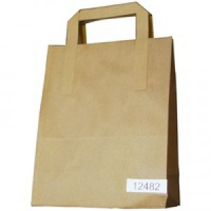 Image for Paper Takeaway Bag Pk250 (0)