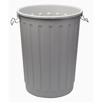 Addis Grey Dustbin Base Round 90Ltr