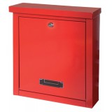Image for Rottner Brighton Mail Box Opening Suitable for A4 Documents W400xD155xH310mm Red Ref T04504