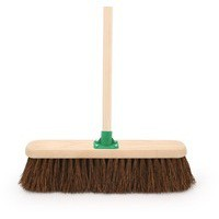 Bassine Broom with Handle 18in