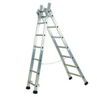 Transformable 3 Sect Alum Ladder 6m