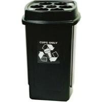 Disposable Cup Bin Grey 354185