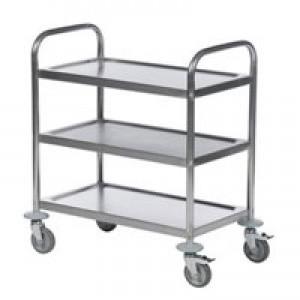 Image for 3 Shelf Trolley 600X400 Slv