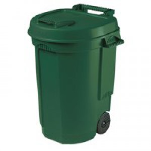 Mobile Green Dustbin 110Ltr 383420