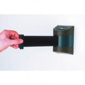 Barrier Black 4.6m Retractable Wall Unit