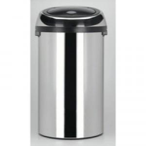 Touch Top Steel Waste Bin 50 Ltr 311734