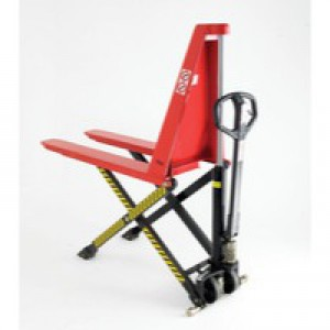Red Hi-Lift Pallet Truck 68x110cm