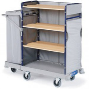 Maid Service Trolley/Bag 1170x530x1280mm