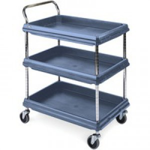 Deep Ledge Blue Trolley 3-Tier 322451