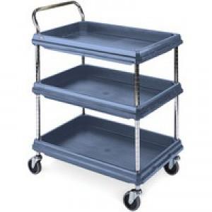 Deep Ledge Blue Trolley 3-Tier 322451