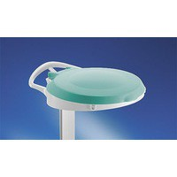 Plastic Round Lid For Smile Green