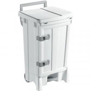 Mobile 90 Litre White Hygiene Bin 329128