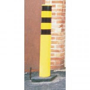 Steel Outdoor Safety Bollard Ylw 330133