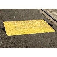 Yellow 700mm Safe Kerb Ramp