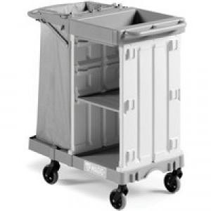 Housekeeping Trolley Sm Base Grey 374980