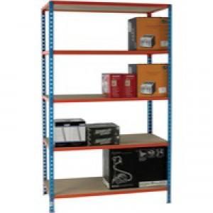 Blue/Orange 120x50cm Shelving 378985
