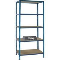 VFM Blue Medium Duty Bays Shelf System
