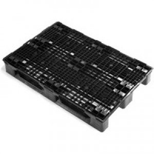 Image for FD Plastic Pallet 800X1200mm Blk 382412
