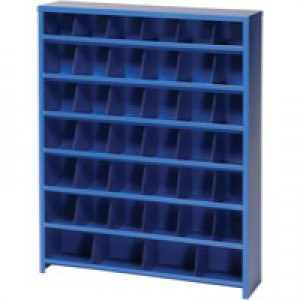 Image for FD 40 Slot Pigeon Hole Unit Blue 383108