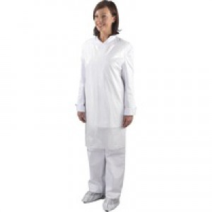 Shield White Apron Roll Pk1000