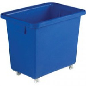 Swivel Blue 610X405X560mm Bottle Skip