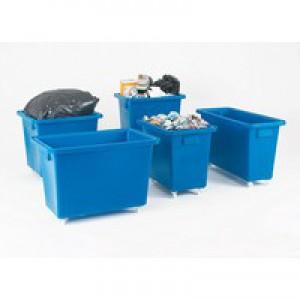 Swivel Blue 625X570X570mm Bottle Skip