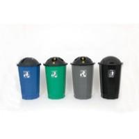 VFM Black/Blue Recycling Cup Bank